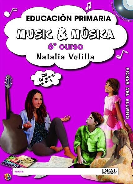 Natalia Velilla: Music & Música Vol. 6: Fichas Del Alumno: Theory