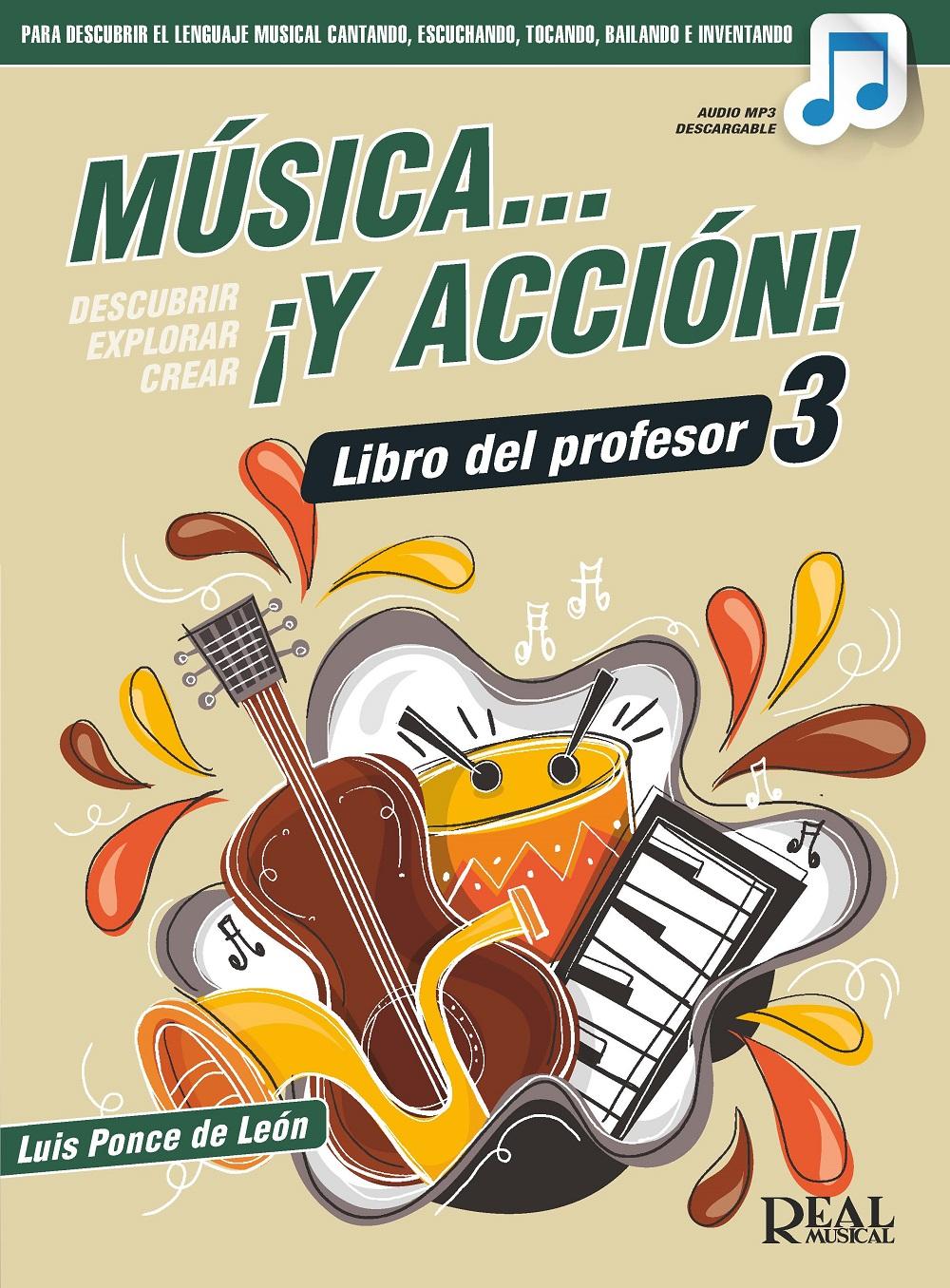 Música… ¡Y acción! 3 (Libro del profesor): Theory