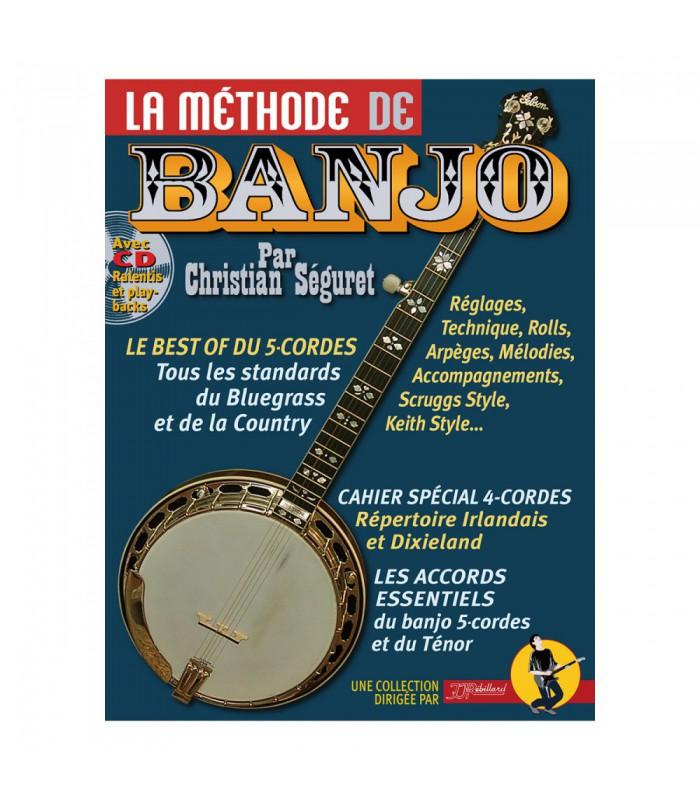 Christian Seguret: La Methode De Banjo: Banjo: Instrumental Tutor