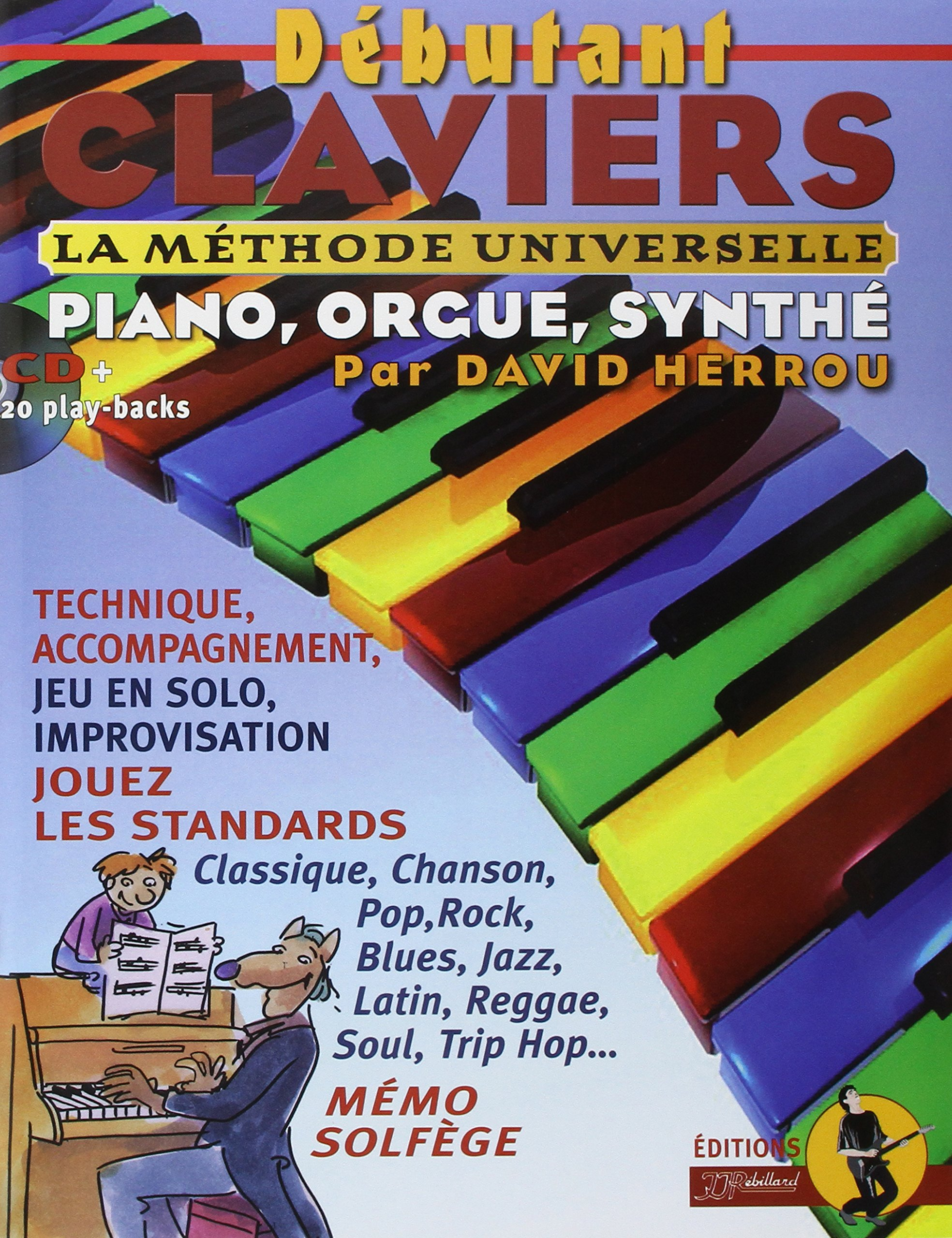 David Herrou: Debutant Claviers: Piano: Instrumental Tutor