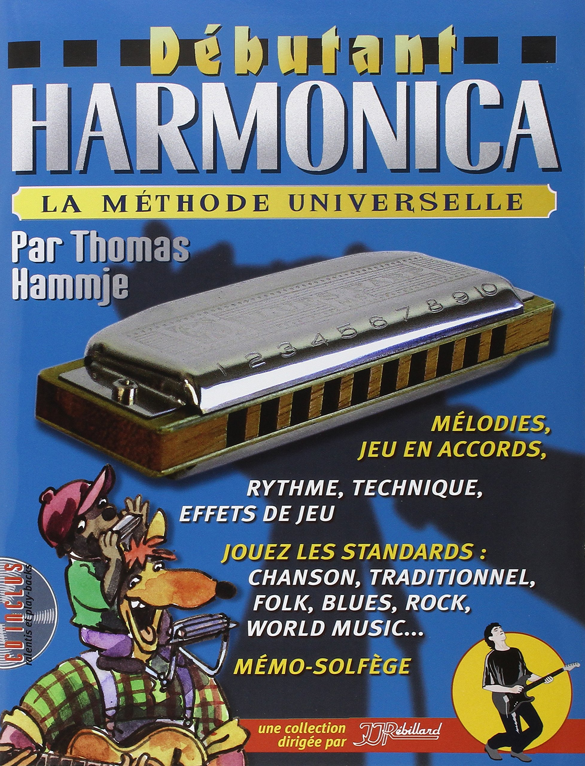Dbutant Harmonica Livre + CD