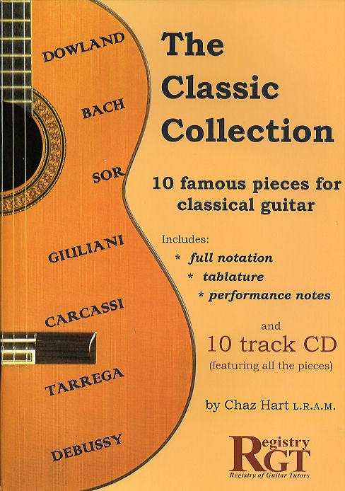 Chaz Hart: Classic Collection 10 Famous Pieces: Guitar: Instrumental Album