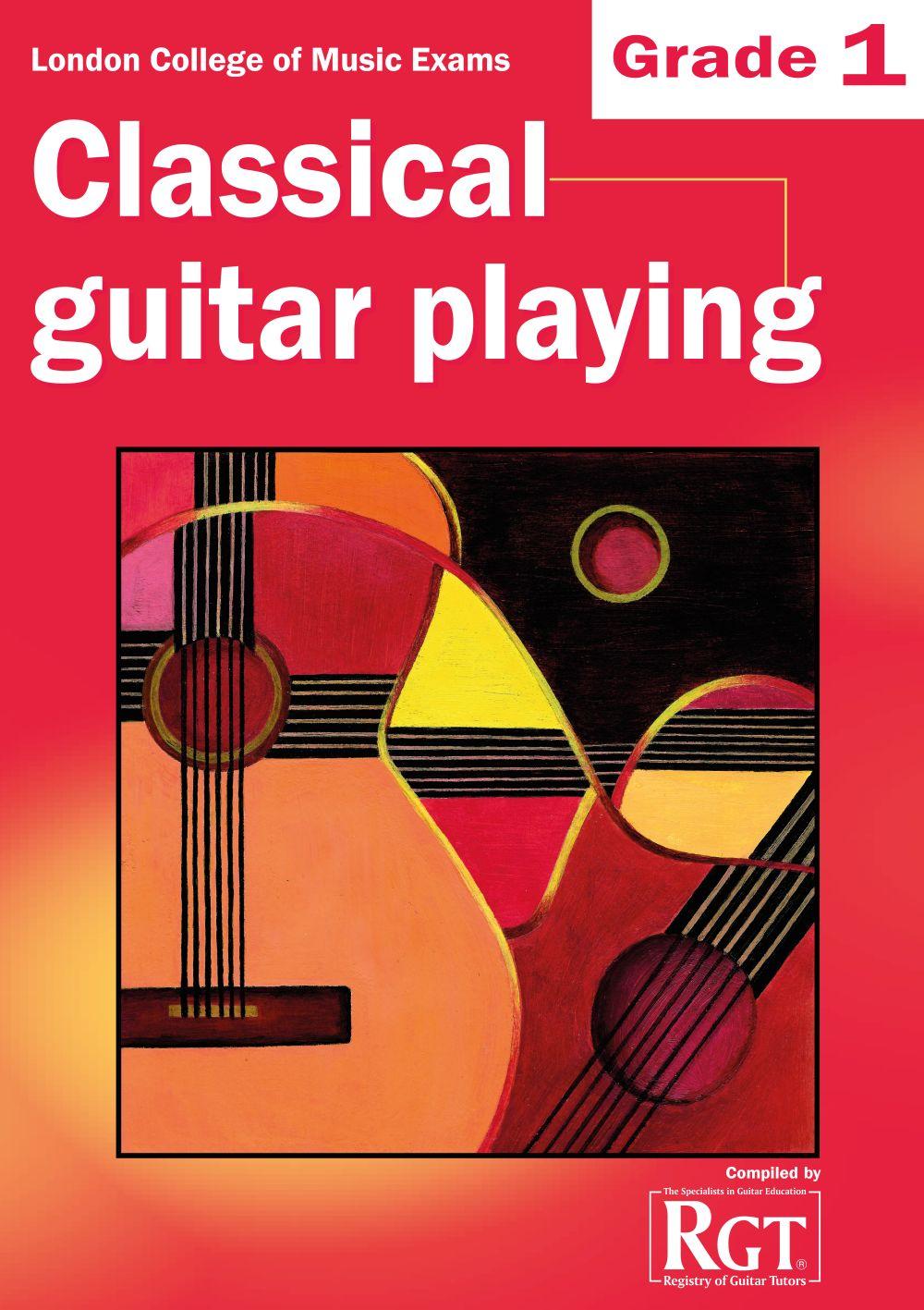 LCM Classical Guitar Playing Grade 1 (2008-2018): Guitar: Instrumental Tutor