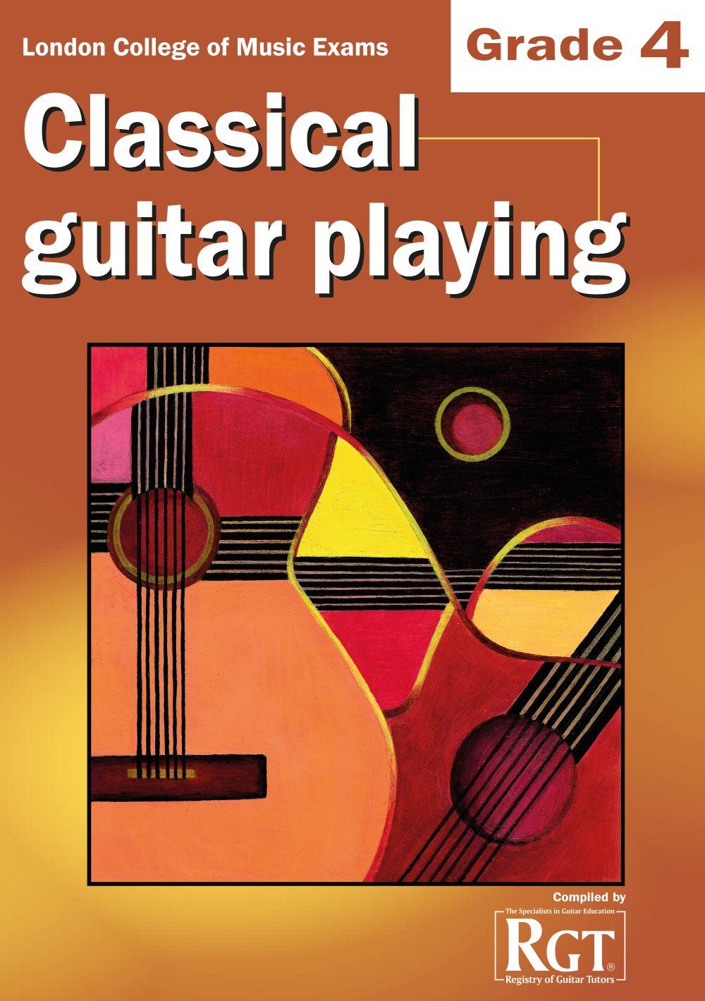 LCM Classical Guitar Playing Grade 4 (2008-2018): Guitar: Instrumental Tutor