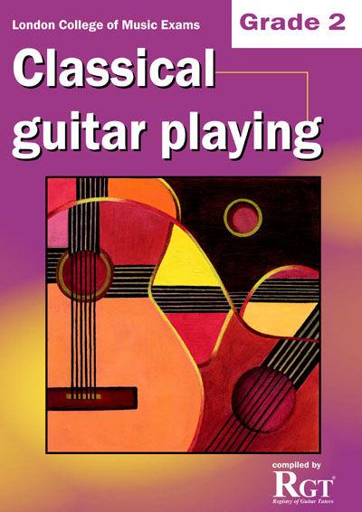 LCM Classical Guitar Playing Grade 2 (2008-2018): Guitar: Instrumental Tutor