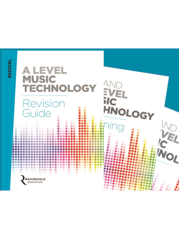 Rhinegold Education: Edexcel AS & A Level Music Technology Exam Pack