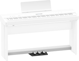 Piano Pedals For FP90 White: Instrument Component