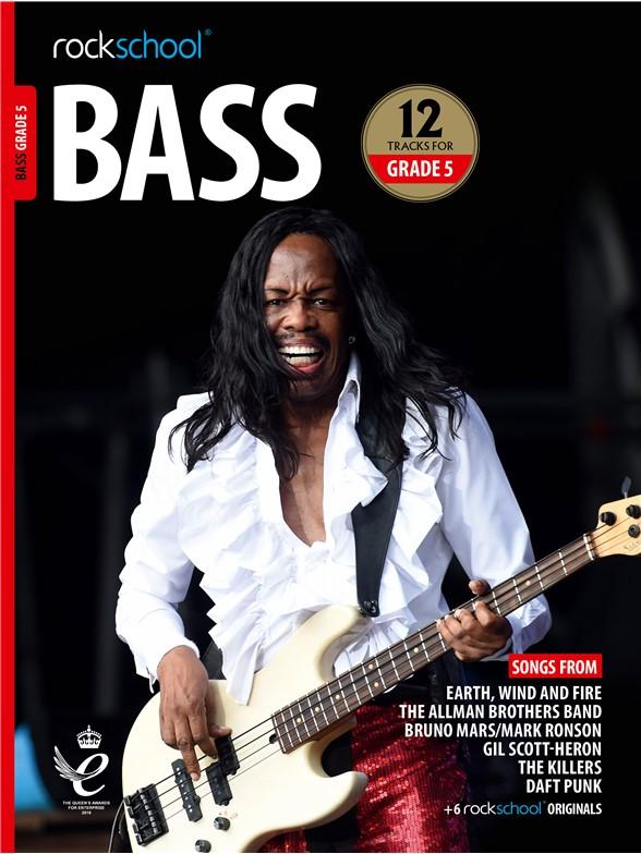 Rockschool Bass Grade 5 (2018): Bass Guitar: Instrumental Tutor