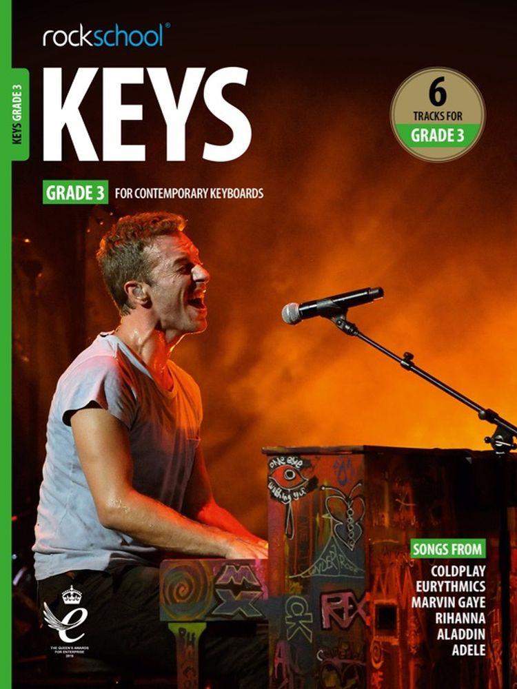 Rockschool Keys Grade 3 2019