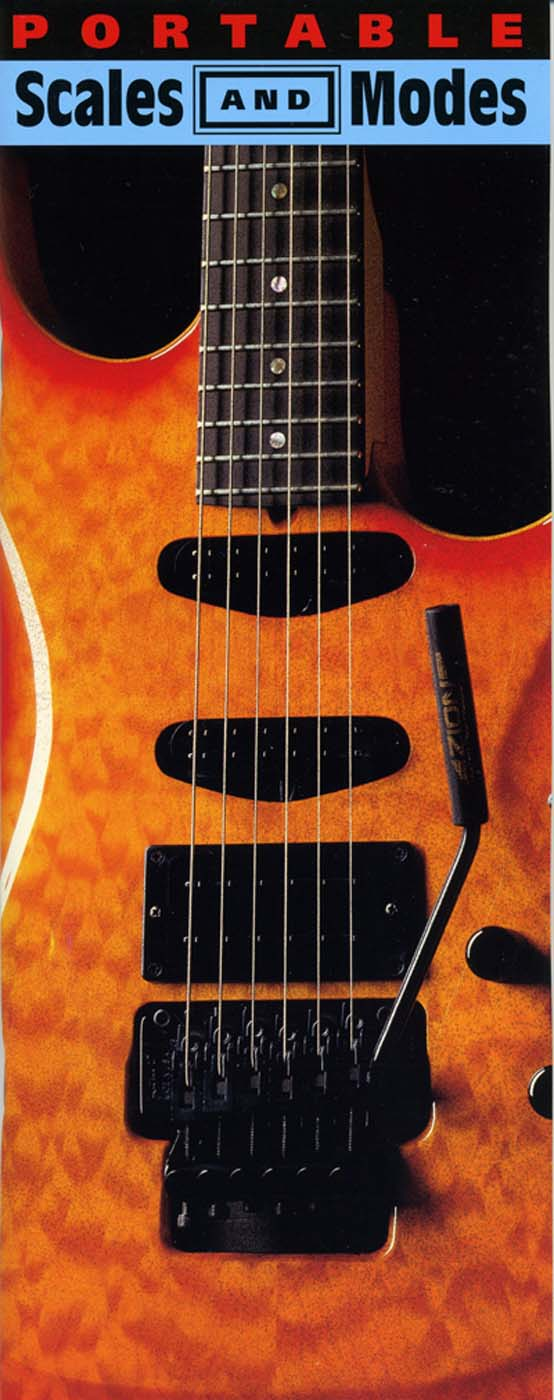 Portable Scales & Modes: Guitar: Instrumental Reference