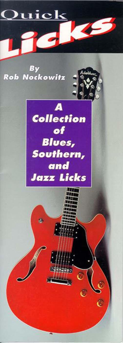 Rob Nockowitz: Portable Quick Licks: Guitar: Instrumental Reference