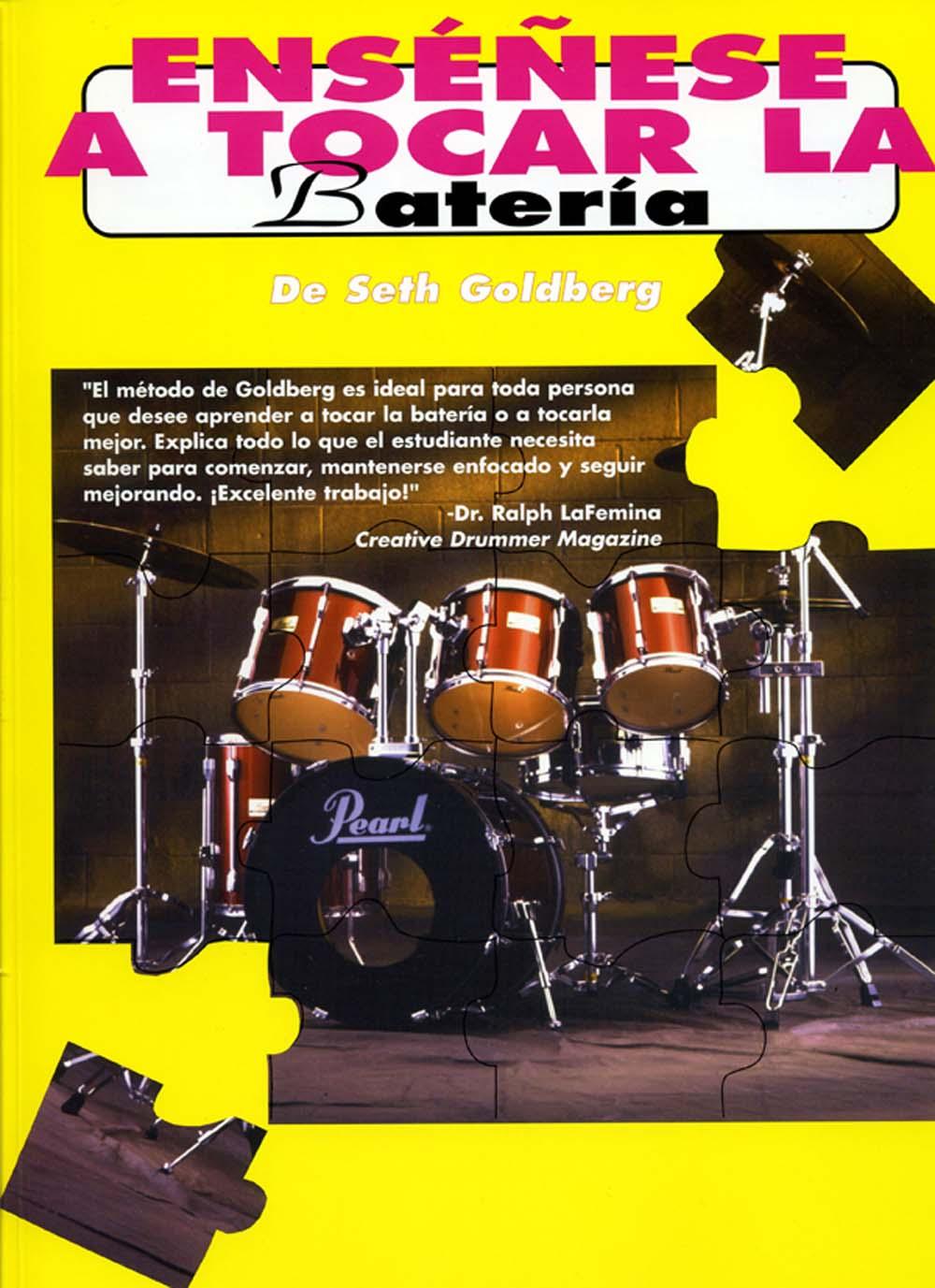 Seth Goldberg: Ensenese A Tocar La Bateria: Drum Kit: Instrumental Tutor
