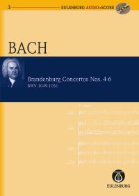 Johann Sebastian Bach: Brandenburg Concertos Nos.4-6: Orchestra: Miniature Score