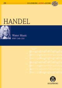 Georg Friedrich Händel: Water Music: Orchestra: Miniature Score