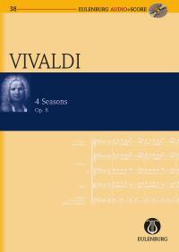 Antonio Vivaldi: The Four Seasons Op.8: Violin: Miniature Score