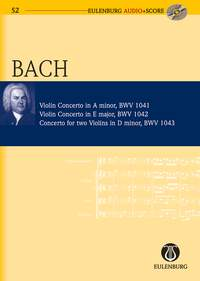 Johann Sebastian Bach: Violin Concertos: Orchestra: Miniature Score
