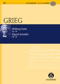 Edvard Grieg: Holberg Suite / Sigurd Jorsalfar op. 40 / op. 56: String