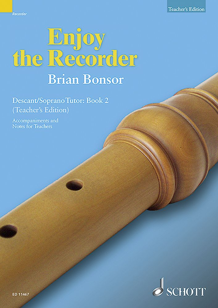 Brian Bonsor: Enjoy The Recorder 2A: Descant Recorder: Instrumental Tutor