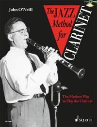 John O'Neill: The Jazz Method For Clarinet: Clarinet: Instrumental Tutor