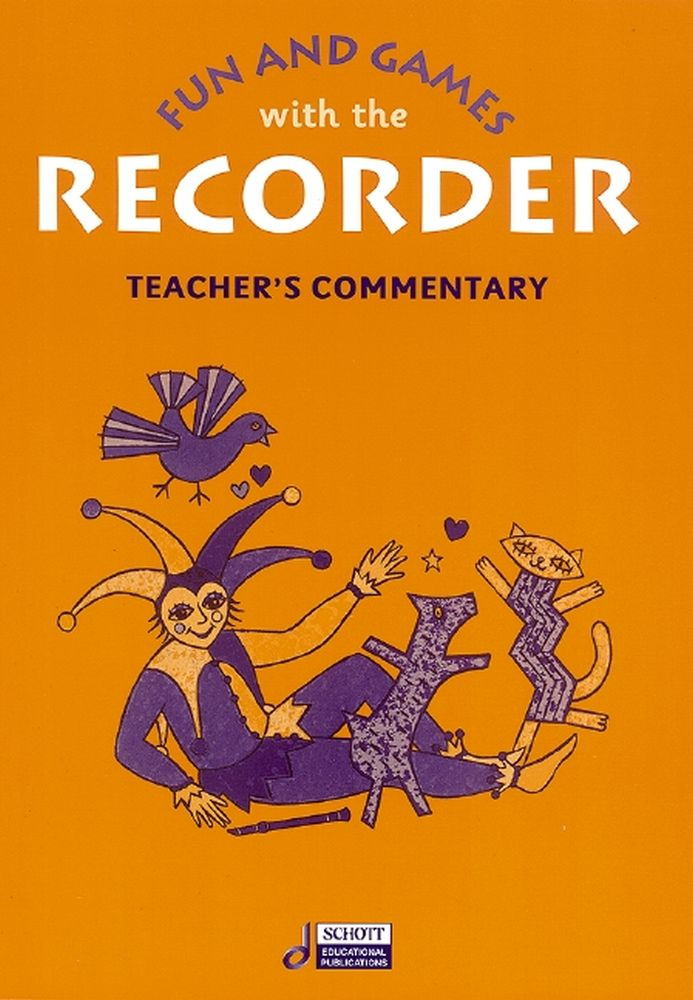 Gudrun Heyens: Fun and Games with the Recorder: Descant Recorder: Instrumental