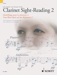 John Kember Graeme Vinall: Clarinet Sight-Reading 2 Vol. 2: Clarinet: