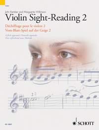 John Kember Marguerite Wilkinson: Violin Sight-Reading 2 Vol. 2: Violin:
