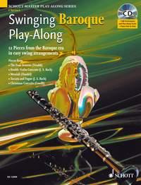Swinging Baroque Play-Along: Clarinet: Instrumental Album