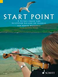 Peter Maxwell Davies: Start Point: String Ensemble: Score and Parts