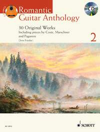 Jens Franke: Romantic Guitar Anthology Vol. 2: Guitar: Instrumental Album