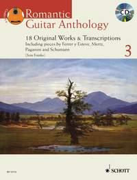 Jens Franke: Romantic Guitar Anthology Vol. 3: Guitar: Instrumental Album