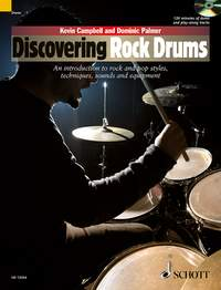 Kevin Campbell Dominic Palmer: Discovering Rock Drums: Drum Kit: Instrumental