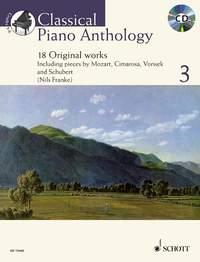 Classical Piano Anthology 3: Piano: Instrumental Album