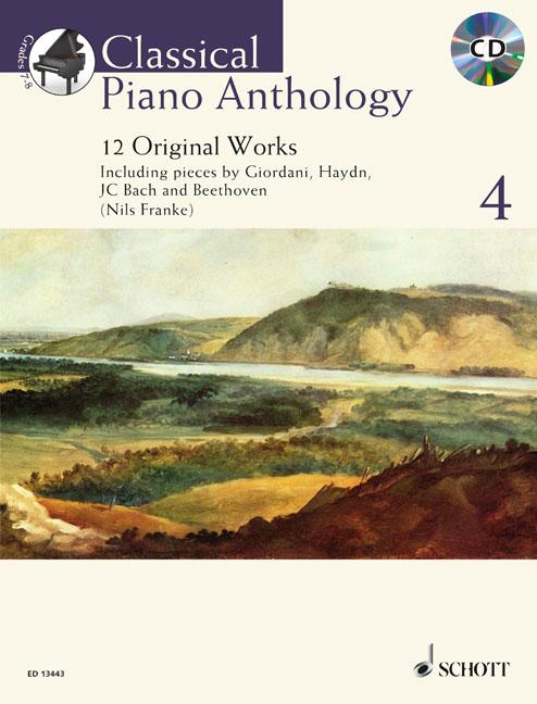 Classical Piano Anthology Vol. 4: Piano: Instrumental Album