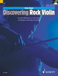 Chris Haigh: Discovering Rock Violin: Violin: Instrumental Tutor