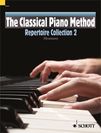 Hans-Günter Heumann: The Classical Piano Method Repertoire Collection 2: Piano: