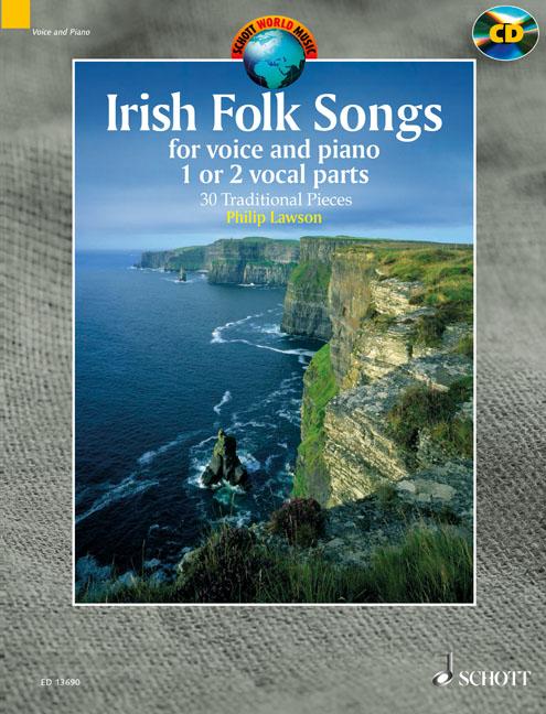 Philip Lawson: Irish Folk Songs: Voice: Mixed Songbook