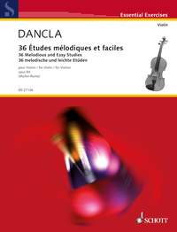 Charles Dancla: 36 Melodious And Easy Studies Op 84: Viola: Study