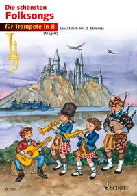 The most beautiful folk songs: Trumpet: Mixed Songbook