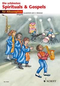 The Best of Spirituals & Gospels: Alto Saxophone: Mixed Songbook