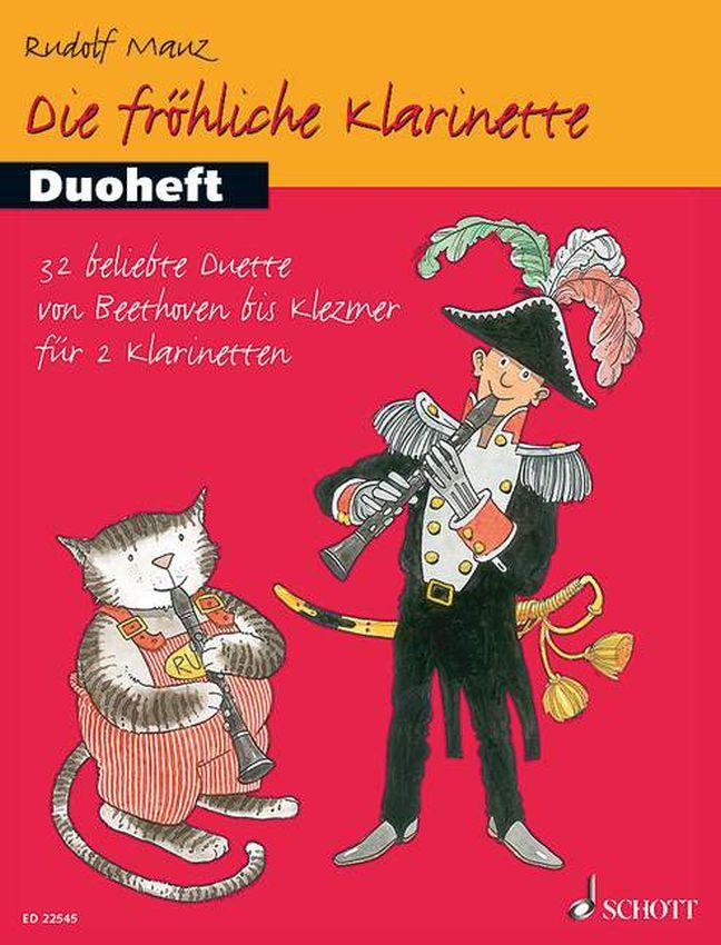 Rudolf Mauz: Die fröhliche Klarinette: Clarinet Duet