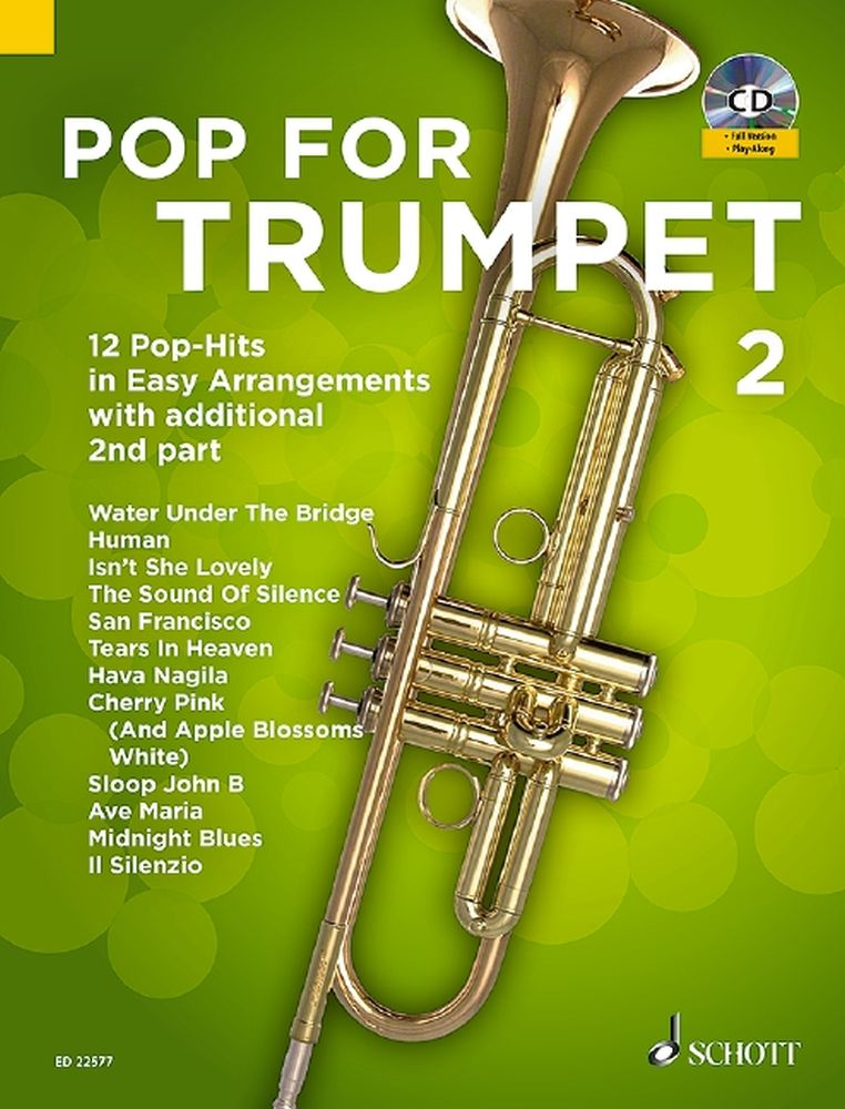 Pop For Trumpet 2 Band 2: Trumpet: Mixed Songbook