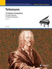 Georg Philipp Telemann: Twelve Little Fantasies: Piano: Instrumental Work