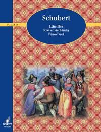Franz Schubert: Landler: Piano Duet