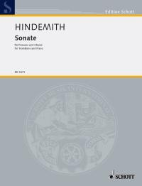 Paul Hindemith: Sonata (1941) Fur Bass-Posaune Und Klavier: Trombone: