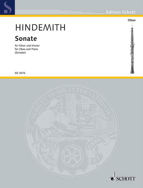 Paul Hindemith: Sonate 1938: Oboe: Instrumental Work