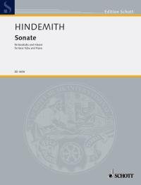 Paul Hindemith: Sonata Tuba: Tuba: Instrumental Work