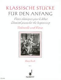 Klassische Stucke Fur Anfang 1: Cello: Instrumental Album