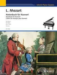 Notebook for Nannerl - Schott Piano Classics - piano - ( ED 9006 )