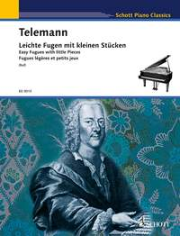 Georg Philipp Telemann: Easy Fugues With Little Pieces: Piano: Instrumental