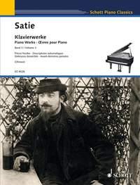 Erik Satie: Satie Piano Works Vol.3: Piano: Instrumental Album
